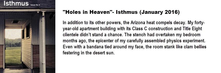 Holes in Heaven